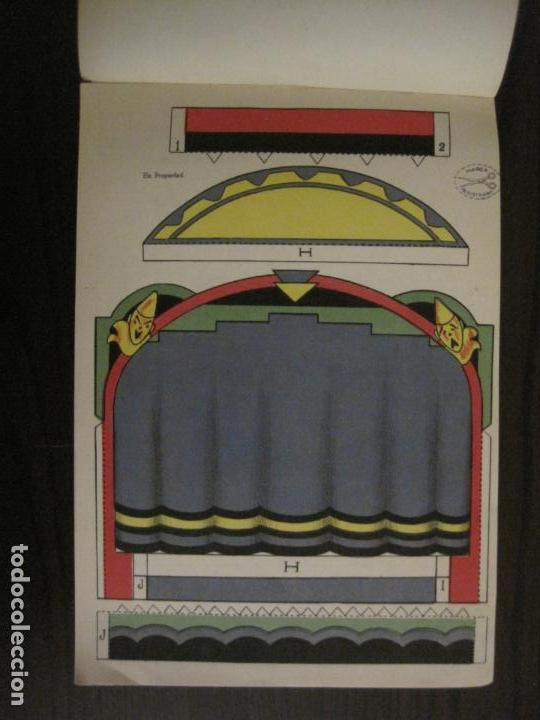 Coleccionismo Recortables: CIRCO INFANTIL-RECORTABLE LA TIJERA-AÑO 1958-9 HOJAS MAS PORTADA-VER FOTOS-(V-15.421) - Foto 4 - 142599622