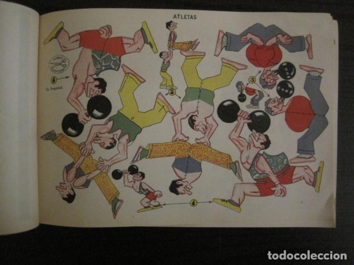 Coleccionismo Recortables: CIRCO INFANTIL-RECORTABLE LA TIJERA-AÑO 1958-9 HOJAS MAS PORTADA-VER FOTOS-(V-15.421) - Foto 6 - 142599622