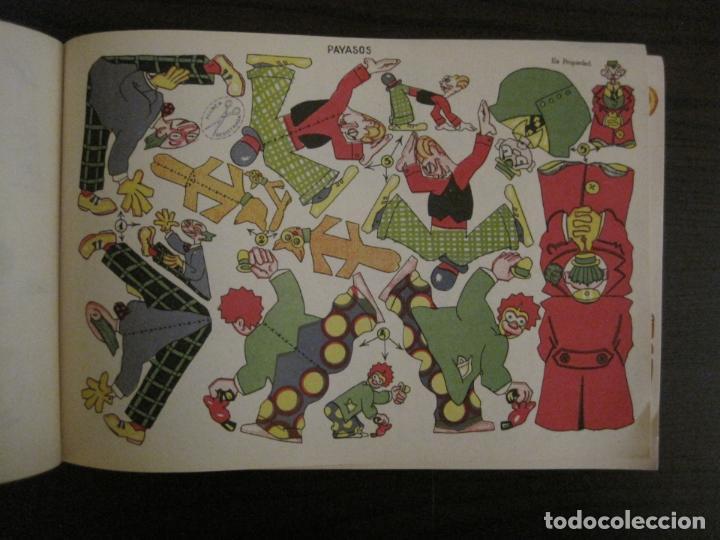 Coleccionismo Recortables: CIRCO INFANTIL-RECORTABLE LA TIJERA-AÑO 1958-9 HOJAS MAS PORTADA-VER FOTOS-(V-15.421) - Foto 7 - 142599622