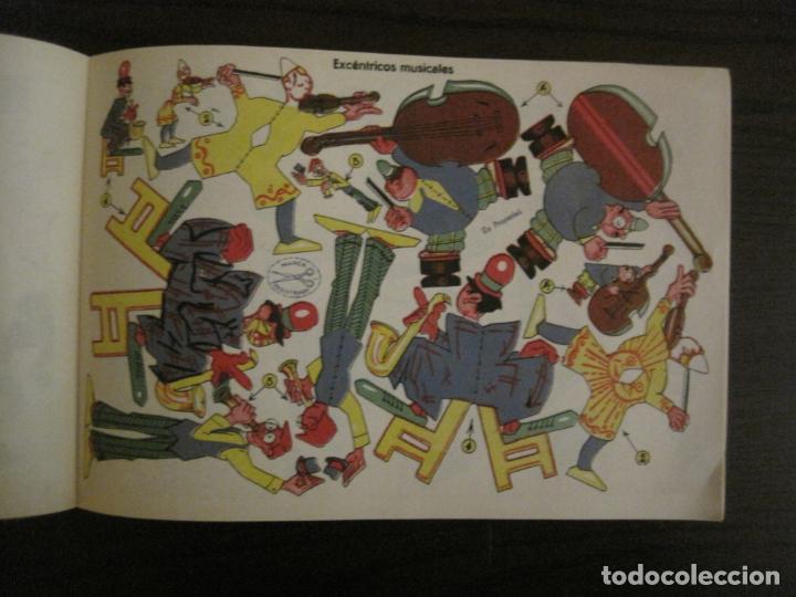 Coleccionismo Recortables: CIRCO INFANTIL-RECORTABLE LA TIJERA-AÑO 1958-9 HOJAS MAS PORTADA-VER FOTOS-(V-15.421) - Foto 9 - 142599622
