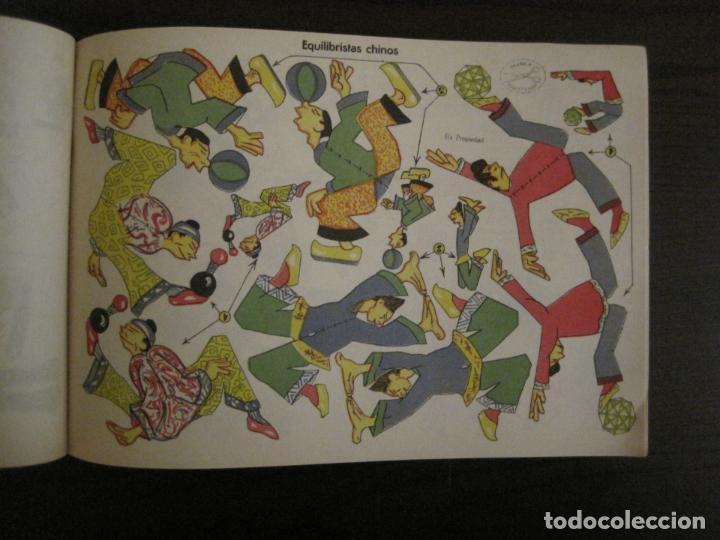 Coleccionismo Recortables: CIRCO INFANTIL-RECORTABLE LA TIJERA-AÑO 1958-9 HOJAS MAS PORTADA-VER FOTOS-(V-15.421) - Foto 10 - 142599622