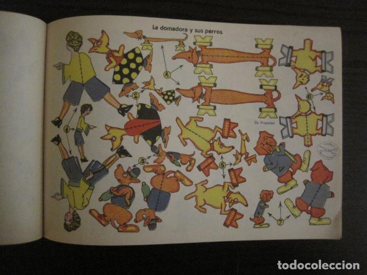 Coleccionismo Recortables: CIRCO INFANTIL-RECORTABLE LA TIJERA-AÑO 1958-9 HOJAS MAS PORTADA-VER FOTOS-(V-15.421) - Foto 11 - 142599622