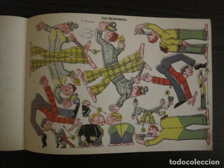 Coleccionismo Recortables: CIRCO INFANTIL-RECORTABLE LA TIJERA-AÑO 1958-9 HOJAS MAS PORTADA-VER FOTOS-(V-15.421) - Foto 12 - 142599622