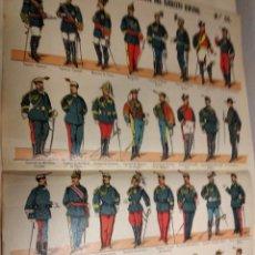 Coleccionismo Recortables: ED. PALUZIE RECORTABLE SOLDADOS. Lote 142747050