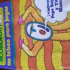 Coleccionismo Recortables: REVISTA INFANTIL EL ACORDEÓN AÑO 2 NÚMERO 40. Lote 142976390