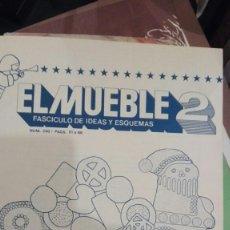 Coleccionismo Recortables: EL MUEBLE 2. IDEAS Y ESQUEMAS.DULCES Y RECORTABLES. ESPECIAL NAVIDAD.. Lote 143591746