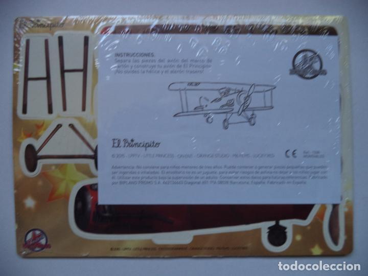 Coleccionismo Recortables: EL PRINCIPITO TROQUELADO EL AVION REGALO DE FOSTER·S HOLLYWOOD CARTON MUY GRUESO SIN DESPRENCITAR - Foto 2 - 149322986