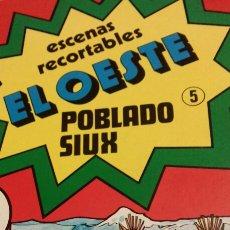 Coleccionismo Recortables: EL OESTE POBLADO SIUX N. 5. Lote 152129186