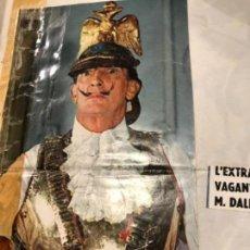 Coleccionismo Recortables: RECORTE 1965 DALI. Lote 152393294