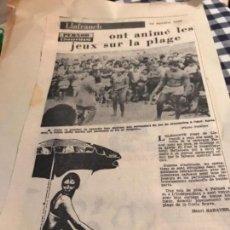 Coleccionismo Recortables: RECORTES L LAFRANCH 1969. Lote 152396206