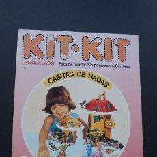 Coleccionismo Recortables: CASITAS DE HADAS / KIT KIT Nº 26 / TROQUELADO - PARA MONTAR Y JUGAR /ARGOS VERGARA 1980 /SIN USAR. Lote 154511590