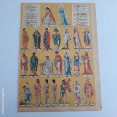 Coleccionismo Recortables: HOJA RECORTABLE PASION DE CRISTO. RELIGION. SEMANA SANTA. Lote 154767830