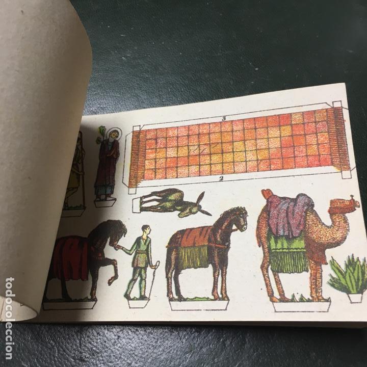 Coleccionismo Recortables: Recortable. Pequeñas hojas de construcción, BELEN, editorial Miguel Salvatella - Foto 4 - 155164050