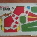 Coleccionismo Recortables: RECORTABLE ASTRONAVE DE JUPITER. Lote 160841442