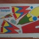 Coleccionismo Recortables: RECORTABLE COHETE TELEDIRIGIDO. Lote 160841942