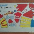 Coleccionismo Recortables: RECORTABLE ASTRONAVE DE COMBATE. Lote 160842514