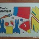 Coleccionismo Recortables: RECORTABLE NAVE MARCIANA. Lote 160843150