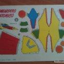 Coleccionismo Recortables: RECORTABLE BOMBARDERO ATÓMICO. Lote 160843250