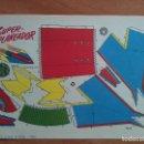 Coleccionismo Recortables: RECORTABLE SUPER PLANEADOR. Lote 160843346