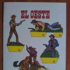 Coleccionismo Recortables: RECORTABLES EL OESTE CUBIERTAS + 4 PÁGINAS. Lote 162120270