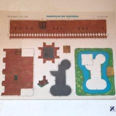 Coleccionismo Recortables: LAMINA RECORTABLE CASTILLO DE BAVIERA. Lote 166845245