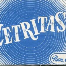 Coleccionismo Recortables: CUADERNO LETRITAS-Nº 8 AÑO 1976. Lote 171433090