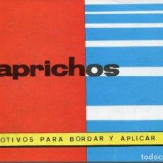 Coleccionismo Recortables: CUADERNO CAPRICHOS -Nº 192- -LAMINAS DE BORDADO. Lote 171434237