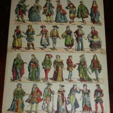 Coleccionismo Recortables: RECORTABLE PALUZIE, D. JUAN TENORIO, PERSONAJES DE TEATRO Nº 849, LIT. DE HIJOS DE PALUZIE, BARCELON. Lote 173369837