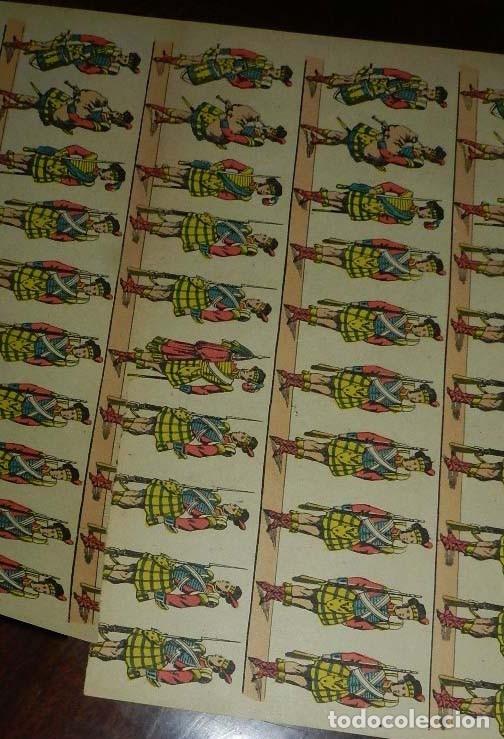 Coleccionismo Recortables: RECORTABLE PALUZIE, EJERCITO INGLES (ESCOCESES) Nº 466, LIT. DE HIJOS DE PALUZIE, BARCELONA, PALUZIE - Foto 2 - 173376170