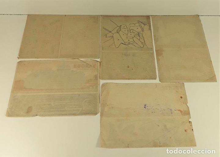 Coleccionismo Recortables: HOJAS SUPLEMENTO REVISTAS : YO. PORVENIR. ETC.... VARIAS EDITORIALES. SIGLO XIX-XX. - Foto 12 - 173379493