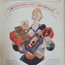 Coleccionismo Recortables: RECORTE DE PRENSA PUBLICIDAD DE CHOCOLATE 1928. Lote 175059428
