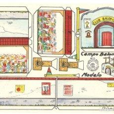 Coleccionismo Recortables: RECORTES RECORTABLES ROSITA - Nº 15 - CAMPO DE BALONCESTO. Lote 175135225
