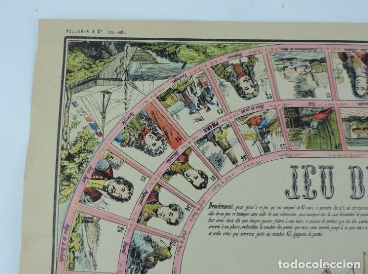 Coleccionismo Recortables: JUEGO EN PAPEL DE JEU DE LA MARINE. IMAGERIE D´EPINAL N. 1738, Pellerin & Cie. Imp. edit. TIPO JUEGO - Foto 3 - 176627507