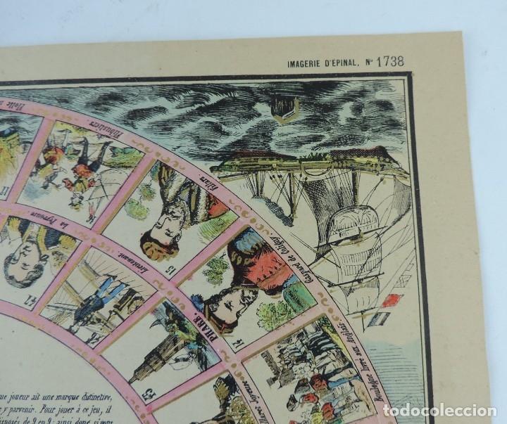 Coleccionismo Recortables: JUEGO EN PAPEL DE JEU DE LA MARINE. IMAGERIE D´EPINAL N. 1738, Pellerin & Cie. Imp. edit. TIPO JUEGO - Foto 4 - 176627507