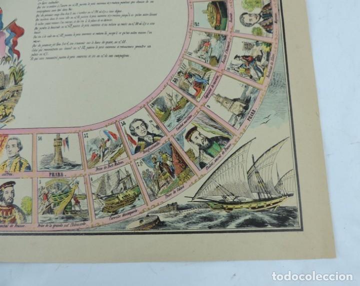 Coleccionismo Recortables: JUEGO EN PAPEL DE JEU DE LA MARINE. IMAGERIE D´EPINAL N. 1738, Pellerin & Cie. Imp. edit. TIPO JUEGO - Foto 6 - 176627507