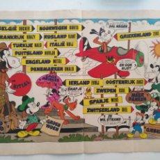 Coleccionismo Recortables: PÁGINA CENTRAL REVISA RECORTABLE DISNEY LOS ARISTOGATOS . Lote 176722600