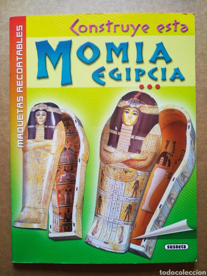 MAQUETAS RECORTABLES: CONSTRUYE ESTA MOMIA EGIPCIA (SUSAETA/USBORNE). (Coleccionismo - Otros recortables)