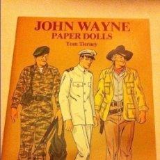 Coleccionismo Recortables: JOHN WAYNE - (PAPER DOLLS 1981)- MUY BIEN CONSERVADO- 23X31 CM. Lote 178218408