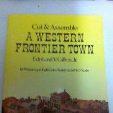 Coleccionismo Recortables: WESTERN FRONTIER TOWN . Lote 178218848