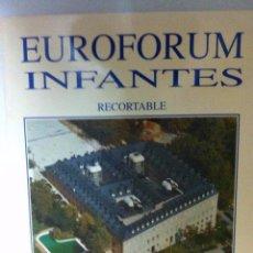 Coleccionismo Recortables: EUROFORUM FELIPE II Y EUROFORUM INFANTES - AÑO 1991. Lote 178219428