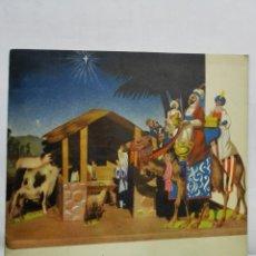 Coleccionismo Recortables: RECORTABLE EL PORTAL DE BELEN, JUGUETE INFANTIL ZIG - ZAG, AÑO 1945, MEDIDAS 26 X 37 CM. Lote 180187580