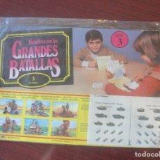 Coleccionismo Recortables: DIVIERTETE CON LAS GRANDES BATALLAS 3 - EL ALAMEIN - BRUGUERA 1980 - PRECINTADO - ENVIO GRATIS. Lote 182695787