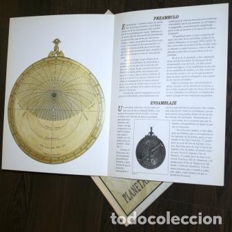 Coleccionismo Recortables: ASTROLABIO PLANISFÉRICO. PLANETARIO DE PAMPLONA - Foto 3 - 183778167