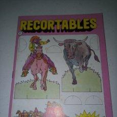 Coleccionismo Recortables: RECORTABLES OESTE ED. BRUGUERA 1984. Lote 185757737