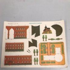 Coleccionismo Recortables: RECORTABLES C Y P 1.101 PALACIO VIENES. Lote 186271990