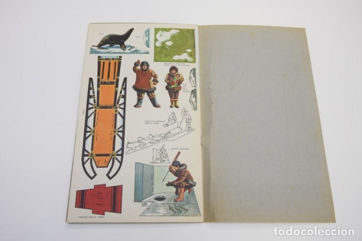 Coleccionismo Recortables: RECORTABLES TROQUELADOS ESQUIMALES - RECORTABLE TROQUELADO - - Foto 3 - 187441587