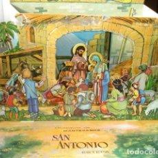 Coleccionismo Recortables: NACIMIENTO RECORTABLE MATECADOS SAN ANTONIO ESTEPA SEVILLA IMPRIME HERMOSO ESTEPA . Lote 187568746
