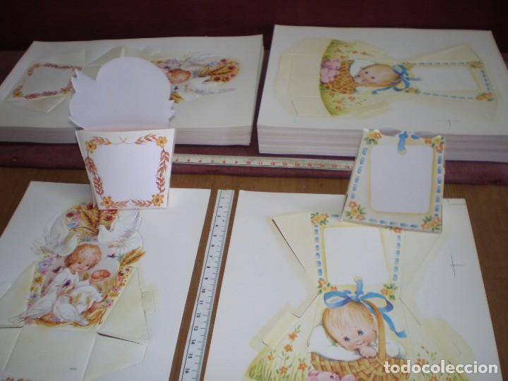 Cajas Bautizo.Lote 2 Cajas Bautizo Vintage Nuevas Troquelado Relieve Mas Fotos Como Quedan Montadas
