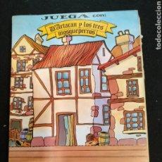 Coleccionismo Recortables: RECORTABLE, JUEGA CON D'ARTACAN Y LOS 3 MOSQUEPERROS. Lote 191087107