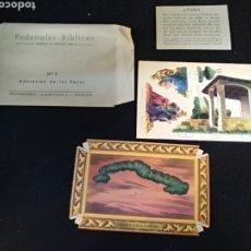 Coleccionismo Recortables: PEDESTALES BIBLICOS N° 3, EDICIONES BARSAL. Lote 191873247